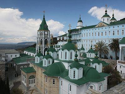 В Пантелеимоновом монастыре на Афоне готовятся к приезду Патриарха Московского и Президента России