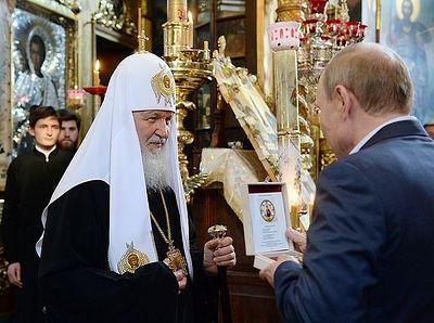 Обращение к Президенту России В.В. Путину и участникам богослужения в Русском на Афоне Пантелеимоновом монастыре