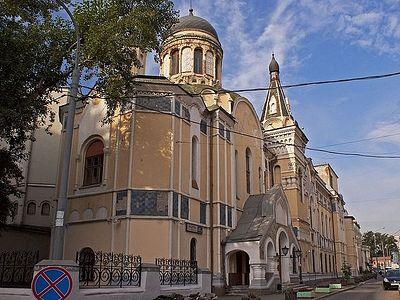 В Российском экономическом университете имени Г.В. Плеханова освятят накупольные кресты домовой церкви