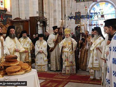 Sunday of the Samaritan Woman at the Jerusalem Patriarchate (2016)