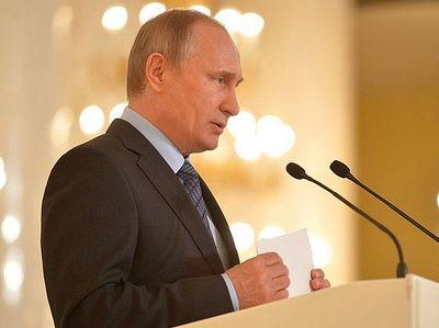 Владимир Путин: «Грамотная речь должна стать правилом хорошего тона»