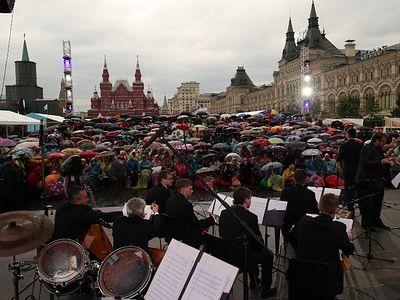 «Несвятые святые» на Красной площади