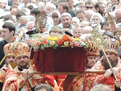 Состоялось перенесение мощей святителя Гурия Таврического