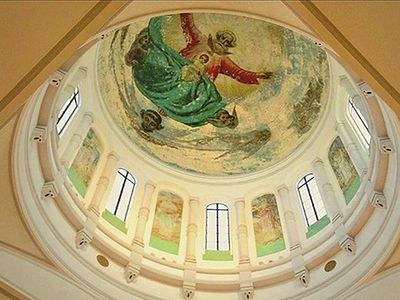 Fresco Paintings Discovered in Shanghai Church