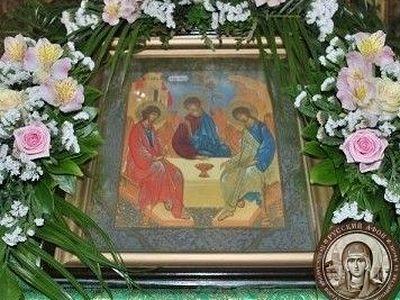 На Афоне встретили праздник Святой Пятидесятницы