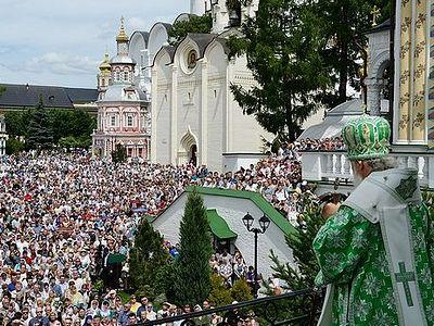 Патриарх Кирилл: Мы должны сочетать творческие усилия с помощью Божией