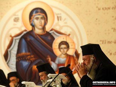 """Bartholomew to Ieronymos: I am not claiming the """"New Territories"""""""