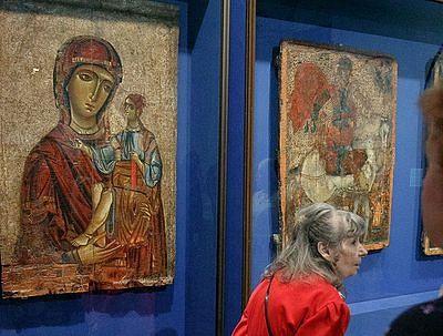 Выставка «Византия сквозь века» открылась в Эрмитаже