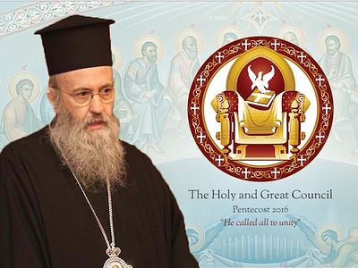 Metropolitan Hierotheos of Nafpatkos describes problems with documents adopted on Crete