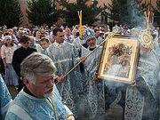 Томск встретил икону Божией Матери «Всецарица»