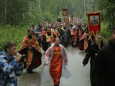 """Royal Days:"" Cross procession on the night of July 16-17"