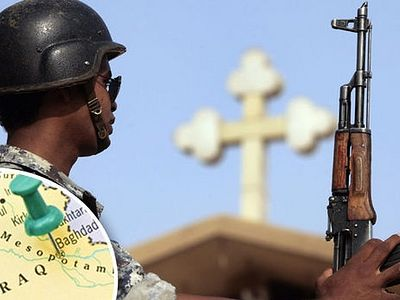 REVEALED: The city where ISIS now occupies ALL churches as Christians face WIPE OUT