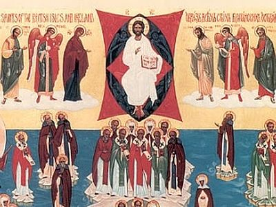 The Synaxis of All Saints of Britain and Ireland