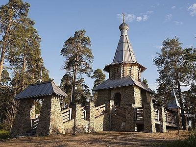 His Holiness Patriarch Kirill consecrated on Valaam chapel in honor of All Saints of Valaam