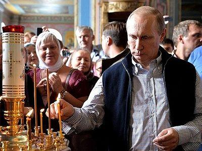 Владимир Путин посетил Валаам (+Видео)
