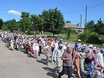 В Московском Патриархате выступили против нападок спикера Верховной Рады на участников Всеукраинского крестного хода