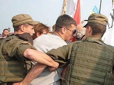 Ukrainian procession for peace blocked in Kiev