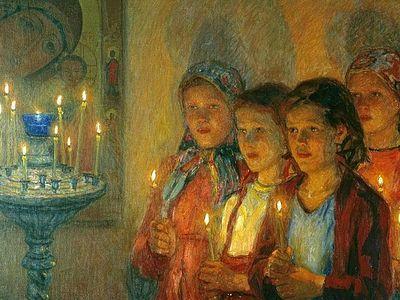 Воспитание святых: размышления о детской молитве