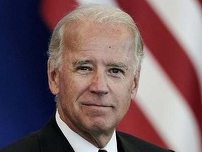 Joe Biden performs his first marriage - between two men