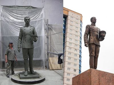 Monument to Tsesarevich Nicholas Unveiled in Chita