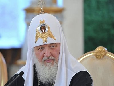 "Patriarch Kirill warns against publicizing ""destructive ideas"" on the internet"