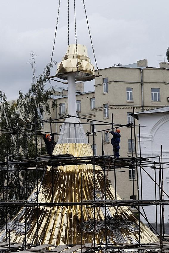 Сборка главного купола