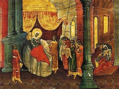 Из слова архимандрита Кирилла (Павлова) на молебном каноне Божией Матери