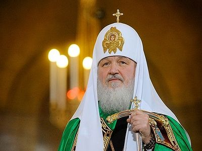 Patriarch Kirill: Salvation and happiness impossible without suffering and sorrows (+Video)