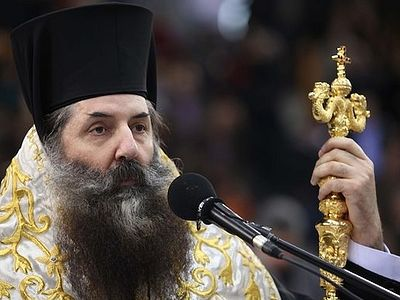 "According to Metropolitan Seraphim, the activities of the Metropolitan of Mantineia and Kynouria ""have inspired God's people"" for many decades. ""He has taken care for his diocese wisely, with prudence and sacrificial love."