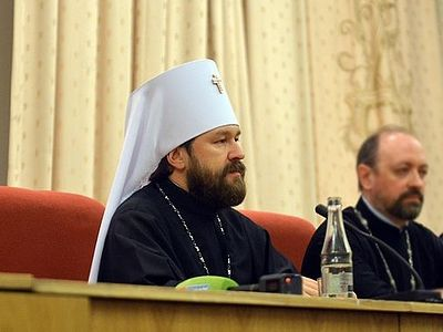 Past twenty-eight years show greatest growth of faith in Russia—Metropolitan Hilarion