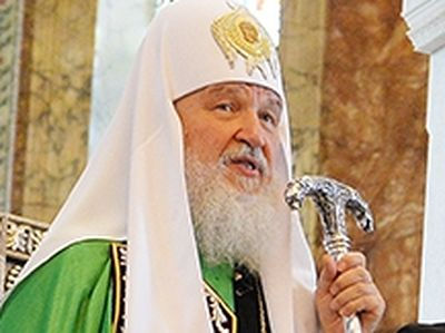 The Sermon of His Holiness Patriarch Kirill after the Divine Liturgy in the Dormition Сathedral in London