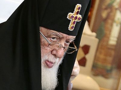 Georgia's Orthodox patriarch to visit Moscow to mark Russian patriarch's 70th birthday
