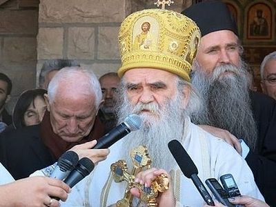 Metropolitan Amfilohije: NATO is flooding Europe and the whole world with blood