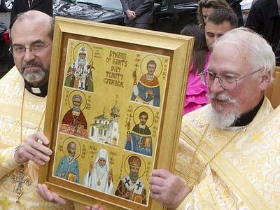 Celebration of the Feast of St. John Kochurov at Chicago's Holy Trinity Cathedral