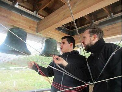 Belkofski church bells ring once again