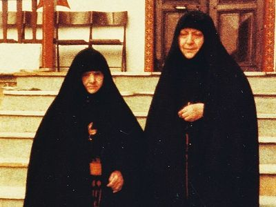 A novice of her own son: On Gerontissa Theophano, the mother of Archimandrite Ephraim of Philotheou