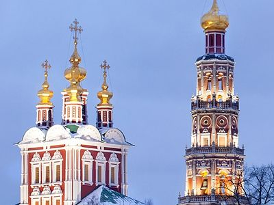 Russia's nine most beautiful monasteries: Winter view