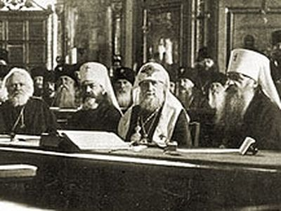 All Russia's Choice. Patriarch Tikhon is undisputably the head of the Church chosen by all the people