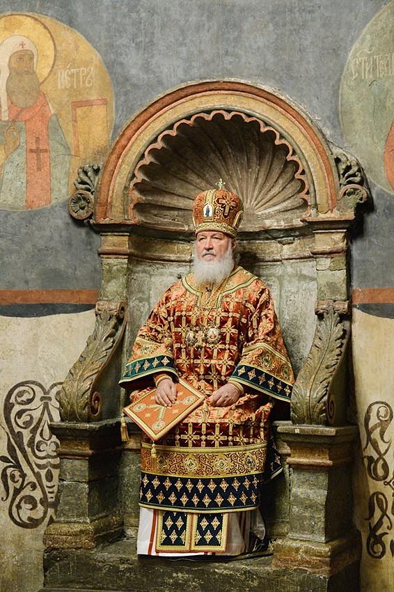 В Архангельском соборе Московского Кремля