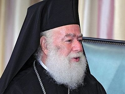 Patriarch Theodoros II: no place for politics in Church matters