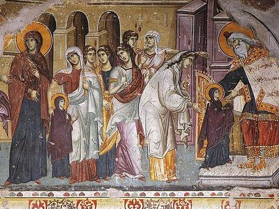 A word on the feast of the Entrance of the Most Holy Theotokos into the Temple