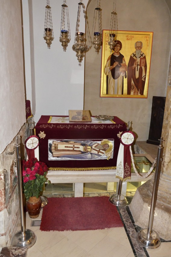 Ark with the relics of St. Clement of Ochrid