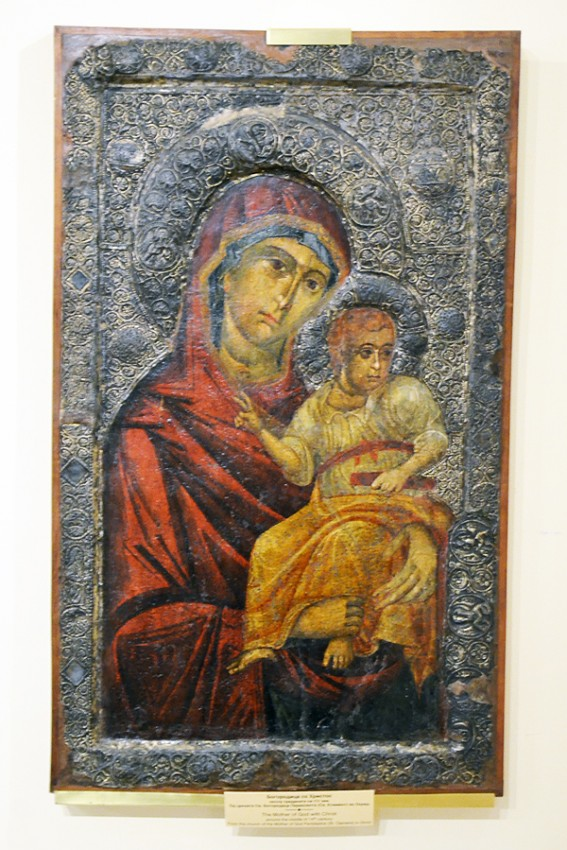 Mother of God with Christ