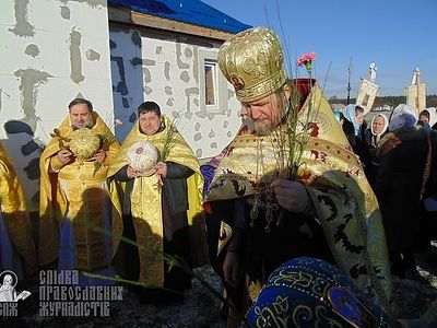 Ukrainian parish rebuilds church after theirs seized by schismatics