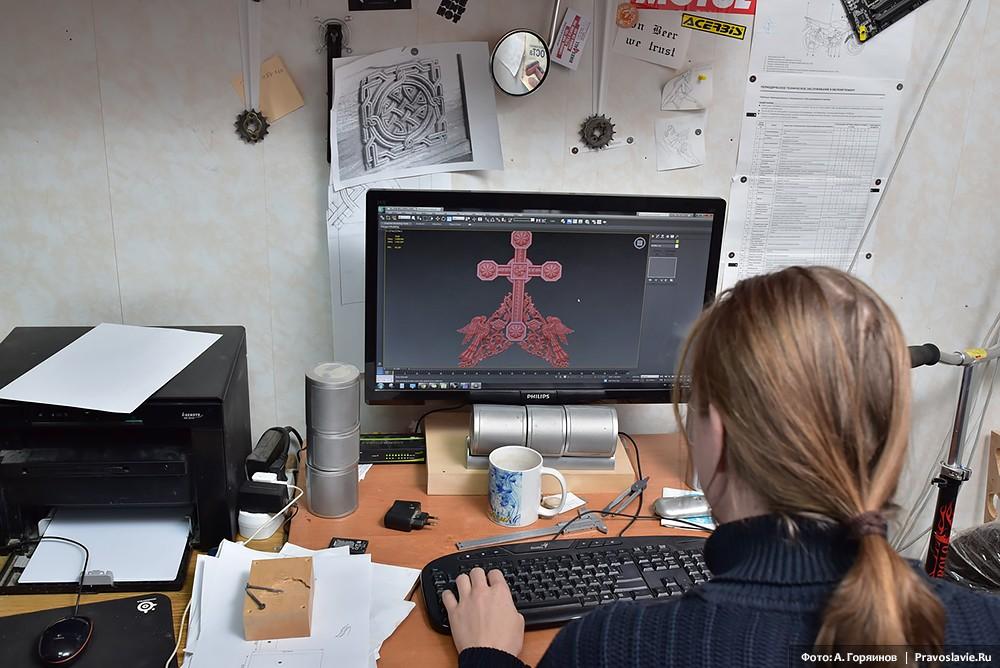 Проектирование резьбы на компьютере