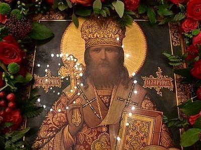PHOTOS: Memory of Hieromartyr Hilarion solemnly honored at Sretensky Monastery