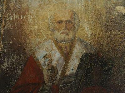 Miraculous appearance of icon of St. Nicholas in village of Velikoretskoye