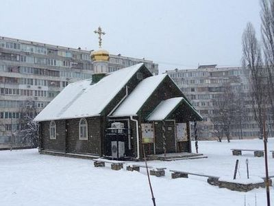 Kiev church miraculously saved from fire rector believes