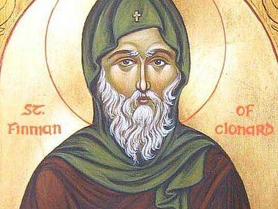 Прп. Финиан, игумен Клонардский, учитель ирландских святых