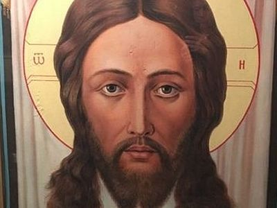 Kazakhstani icon of Christ sheds myrrh before Theophany